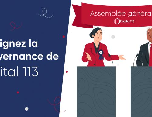 Appel à candidature : rejoignez la gouvernance de Digital 113 !