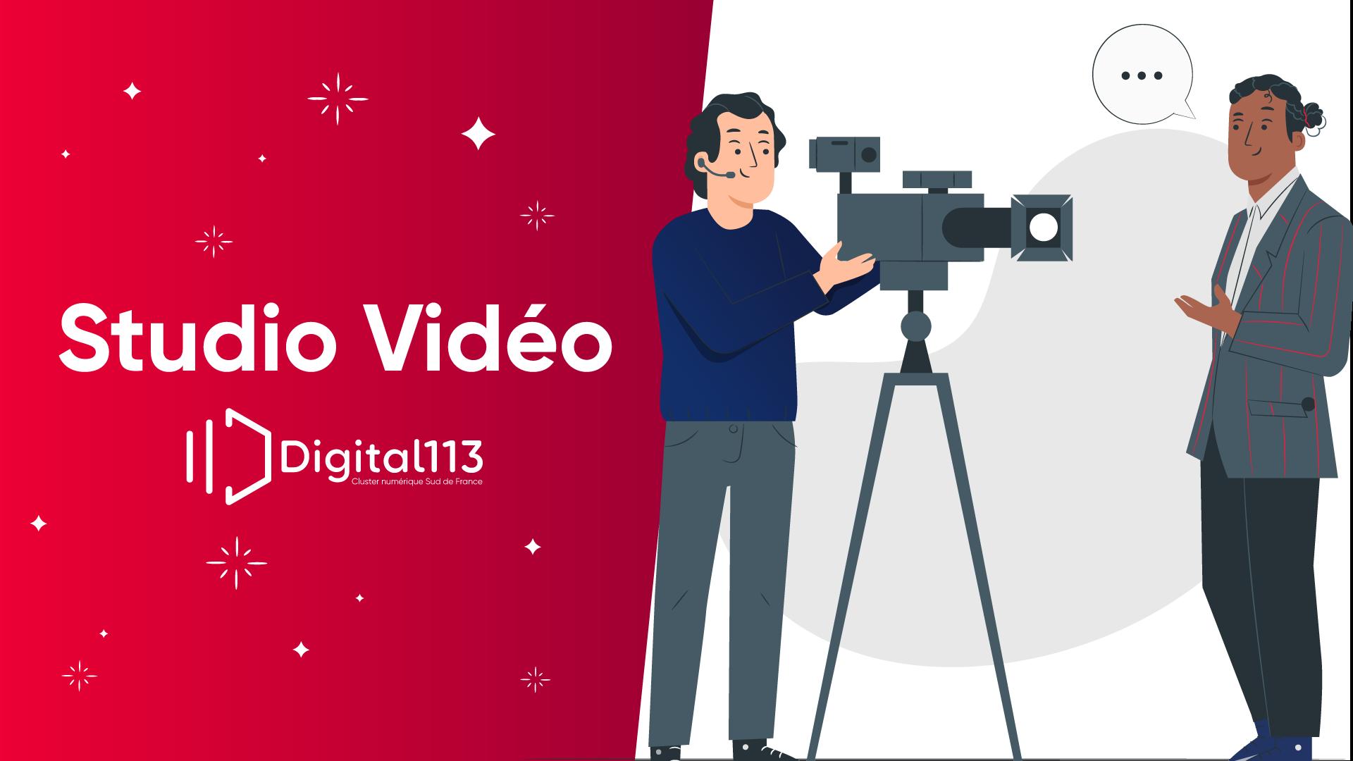 Studio vidéo by digital 113